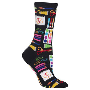 Hot Sox - Women's Art Supplies Socks in Black