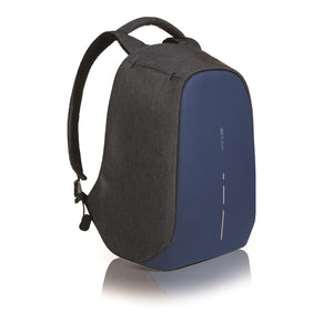 Bobby Anti-Theft Backpack in Diver Blue - Angle View