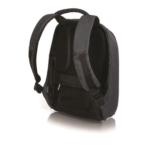 Bobby Anti-Theft Backpack in Diver Blue - Back View