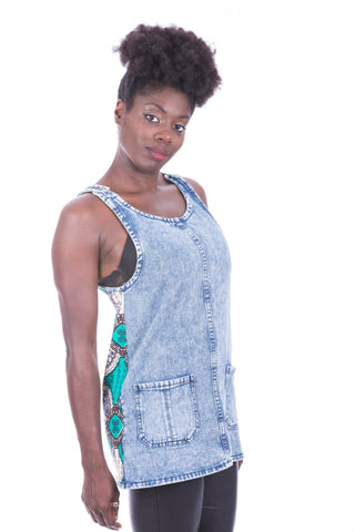 DENIM TUNIC DRESS JEKKAH