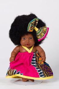 LITTLE ROSA DASHIKI