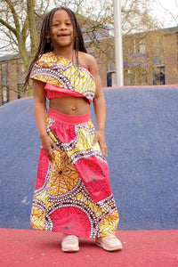Keke off shoulder top and long skirt