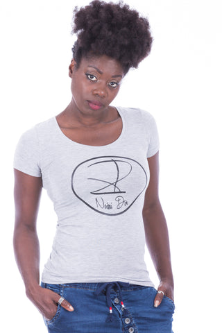 BRAND WOMEN SHIRT GREY