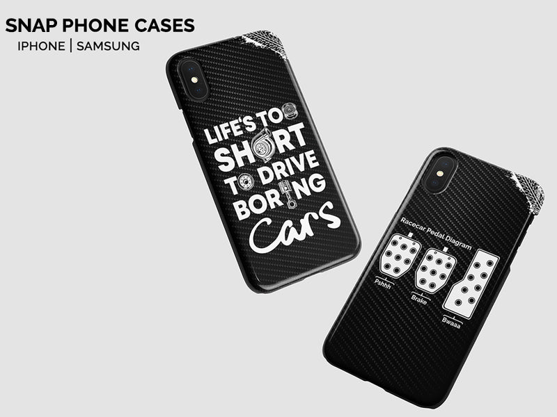 snap cases designed for car guys, iphone cases for car lovers, samsung phone cases designed for petrolheads