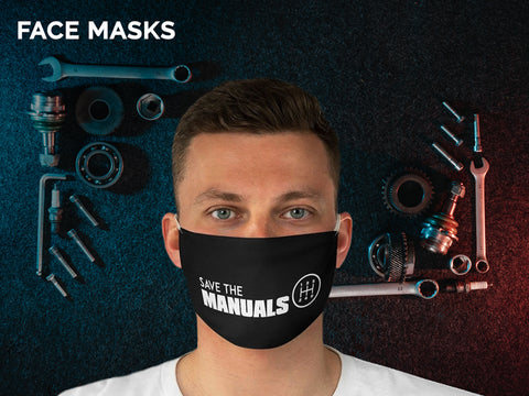 face masks designed for car enthusiasts
