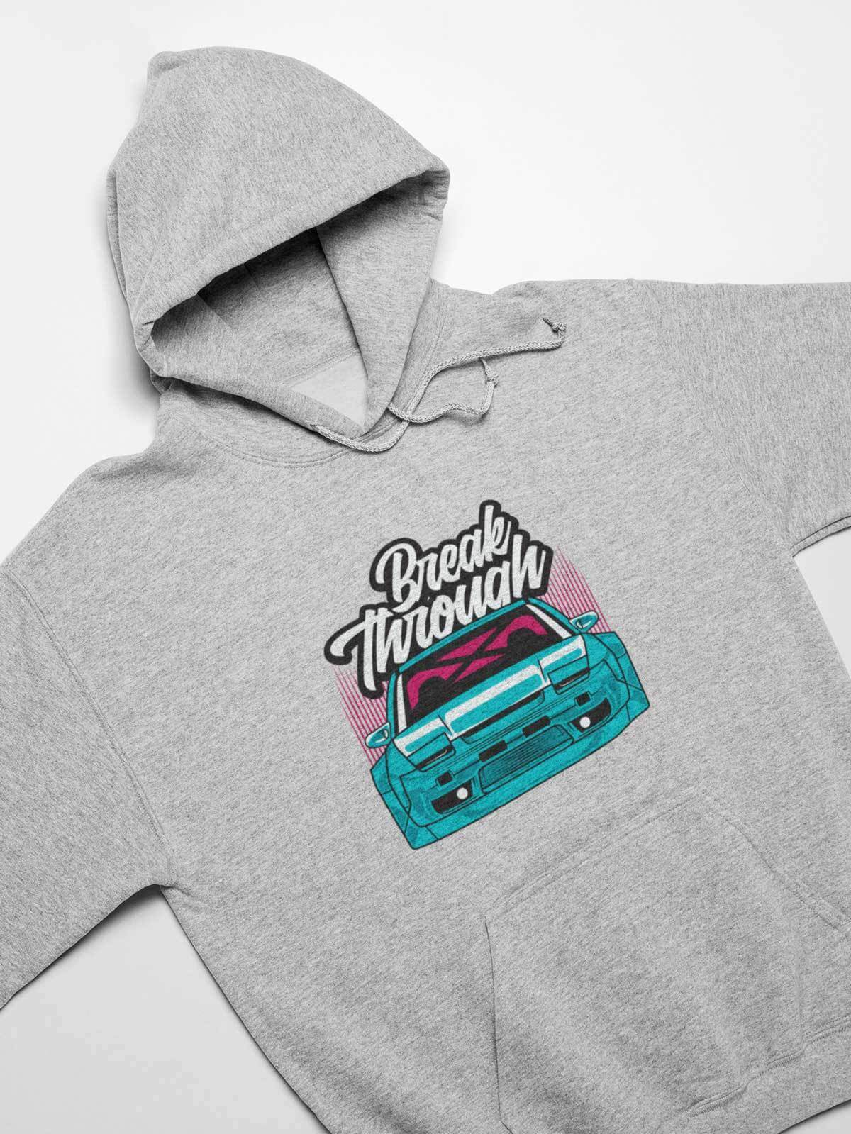 Break Through - Car Hoodie
