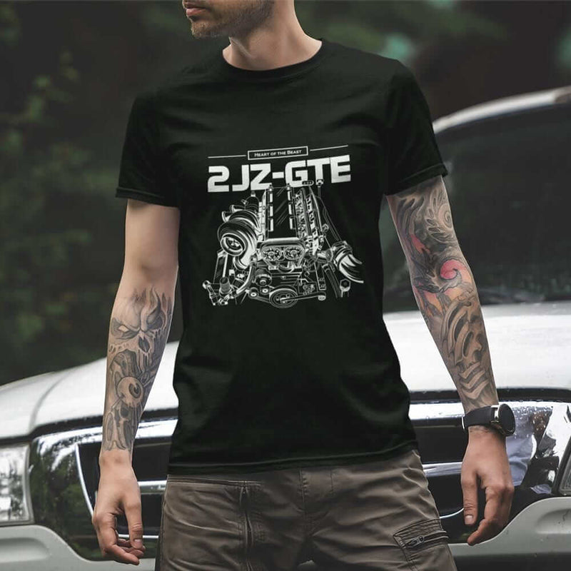 2JZ Engine - Car T-Shirt