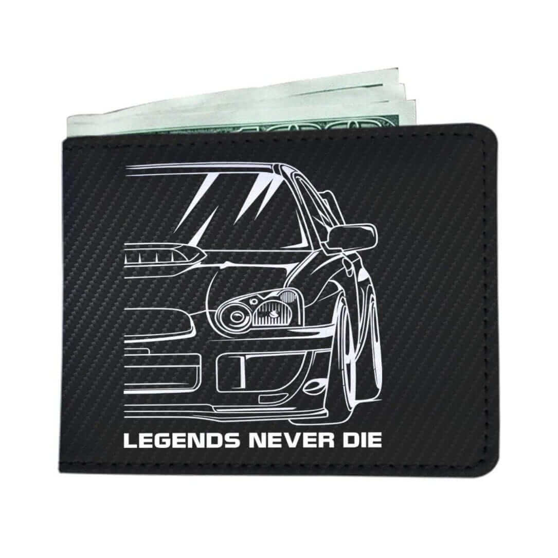 Subie Legends Never Die - Car Wallet