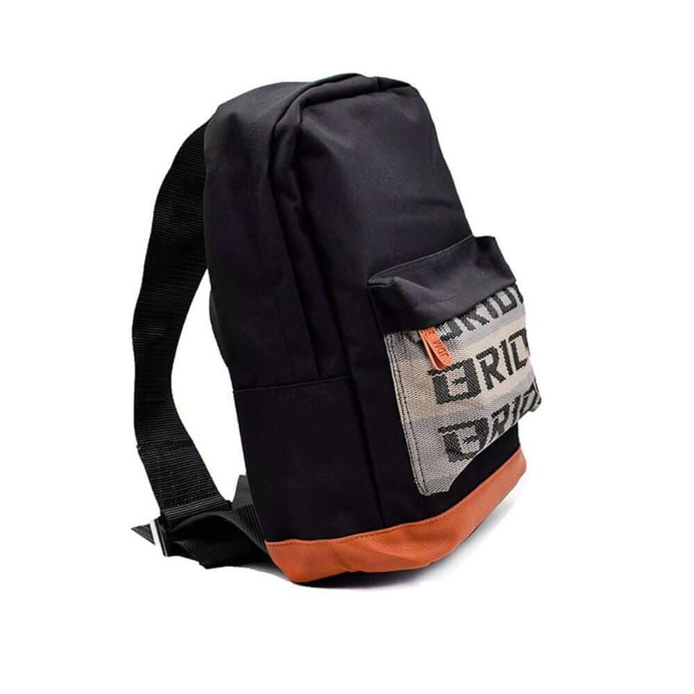 JDM backpack with black racing harness shoulder straps, the perfect school backpack,  school bag, racing backpack made for car enthusiasts, bride backpack with authentic racing harness straps, car guys love it, back to school sale