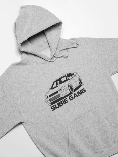 Japanese sports car printed on athletic heather car hoodie designed for car lovers, car guys, car enthusiasts, JDM lovers, and petrolheads