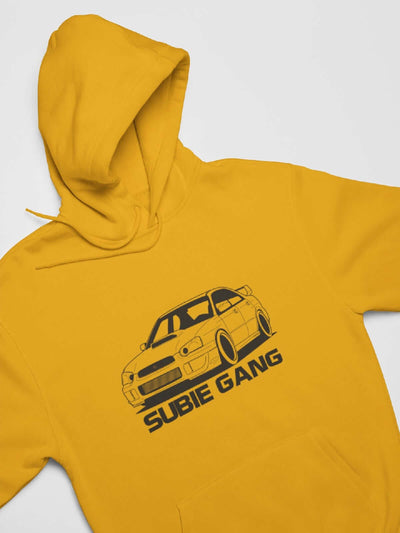 Japanese sports car printed on yellow car t-shirt designed for car lovers, car guys, car enthusiasts, JDM lovers, and petrolheads
