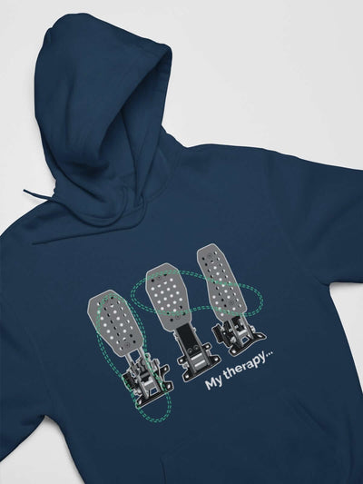 Funny Car Guys design with 3 pedals printed on navy car hoodie, JDM sweatshirt, car guy gift, car lover, car fan, car enthusiast, petrolhead, JDM lover, boyfriend gift idea