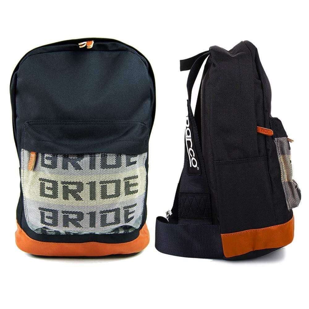 SP Racing Backpack - Black Racing Harness Straps