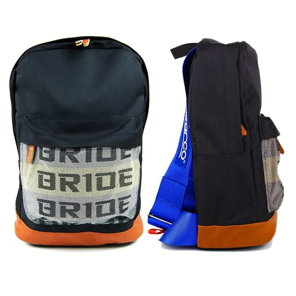 SP Racing Backpack - Blue Racing Harness Straps