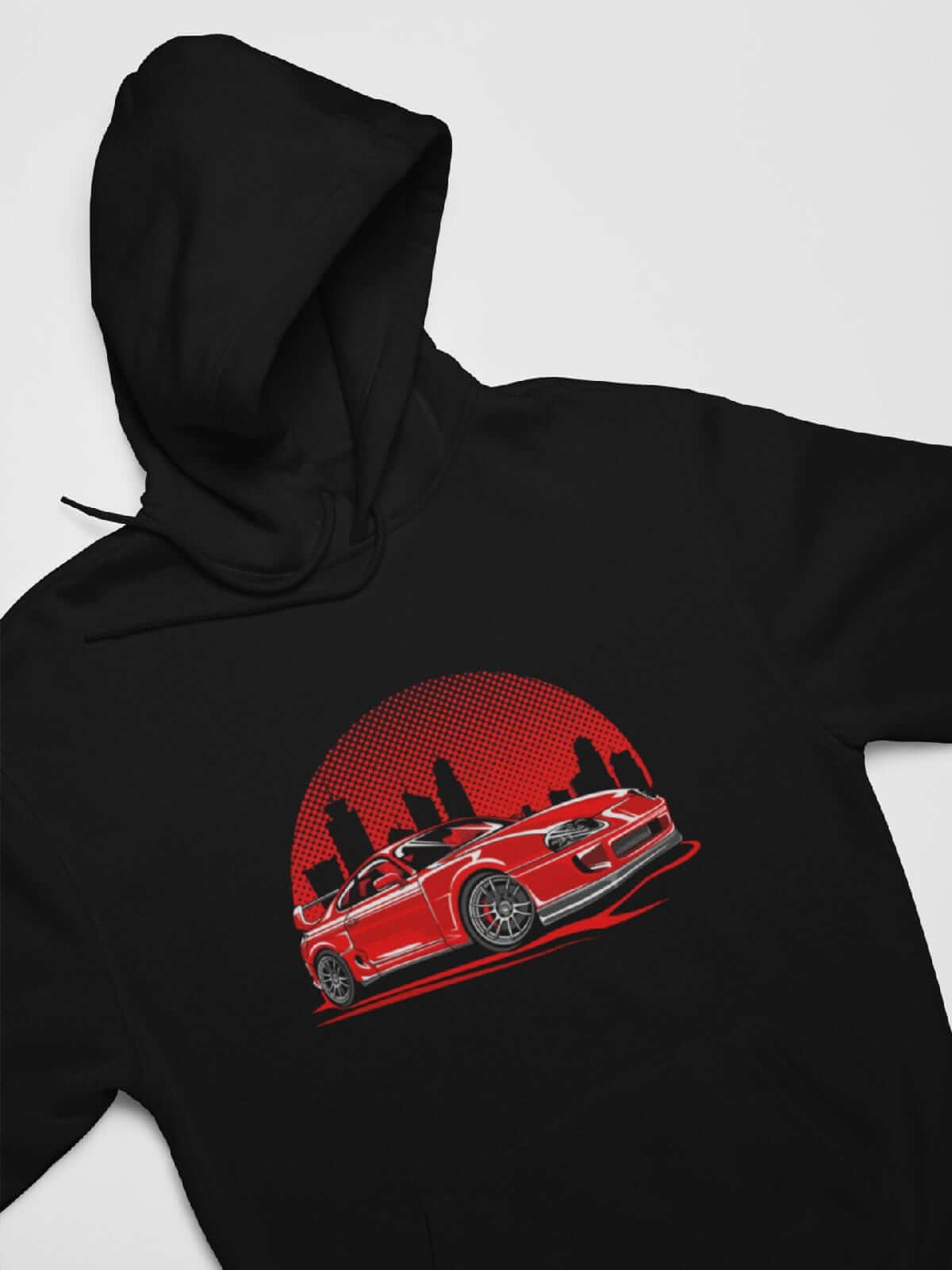 Red City - Car Hoodie