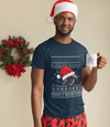 merry boostmas - ugly christmas design, funny navy t-shirt, car apparel, xmas gift, christmas gift, turbo, jdm, racecar, the perfect gift