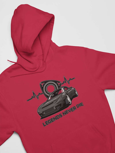 Japanese engine printed on red car hoodie, JDM sweatshirt, car guy gift, car lover, car fan, car enthusiast, petrolhead, JDM lover, boyfriend gift idea