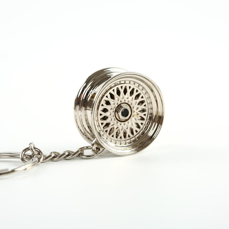 Mesh Wheel - Car Keychain