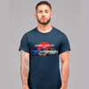 Japanese cars printed on navy car t-shirt, JDM tee, car guy gift, car lover, car fan, car enthusiast, petrolhead, JDM lover, boyfriend gift idea