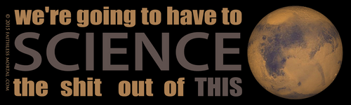 SCIENCE THIS Bumper Sticker