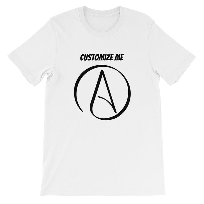 CREATE YOUR OWN Awesome Atheist T-Shirt - Faithless Mortal Clothing