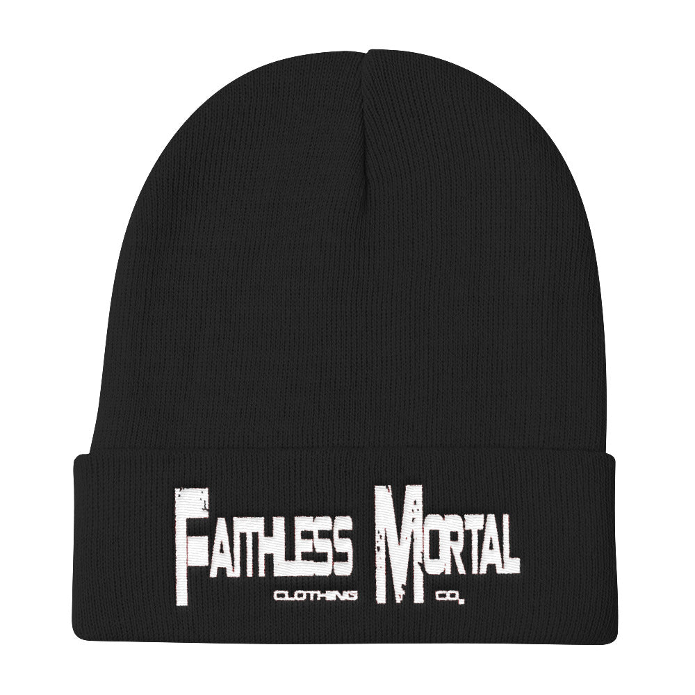 Knit Beanie - Faithless Mortal Clothing