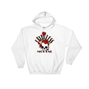 BONES N ROSES Hooded Sweatshirt Hoodie - Faithless Mortal Clothing