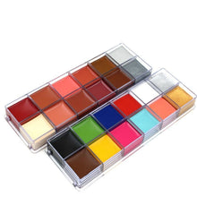 Load image into Gallery viewer, 12 Colors Set Oil Body Paint (2 Variants) Body Paint