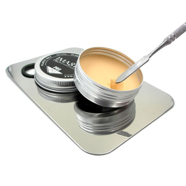 3 Pieces Set Special Effect Makeup Modelling Wax + Spatula + Palette (5 Colors) Modeling Wax