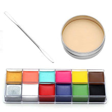 Load image into Gallery viewer, 3 Pieces Special Effects Makeup Set (2 Variants) 1 Body Paint