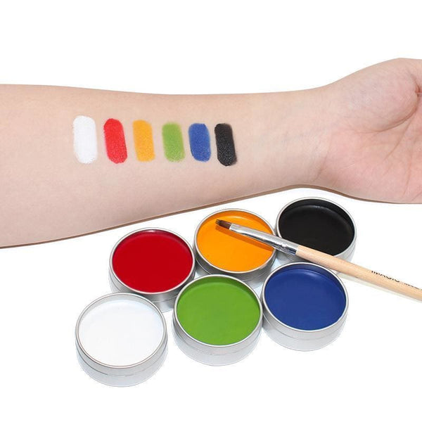 6 Colors Set Face and Body Paint Body Paint