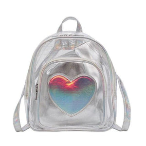 Backpack Drag Corine (Silver or Pink) Silver