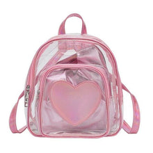Load image into Gallery viewer, Backpack Drag Corine (Silver or Pink) Pink