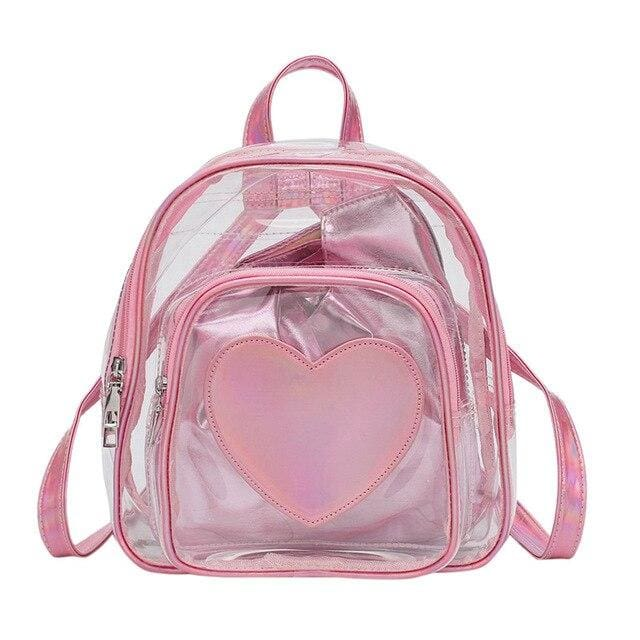 Backpack Drag Corine (Silver or Pink) Pink