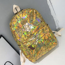 Load image into Gallery viewer, Backpack Drag Shirelle Gold Backpack