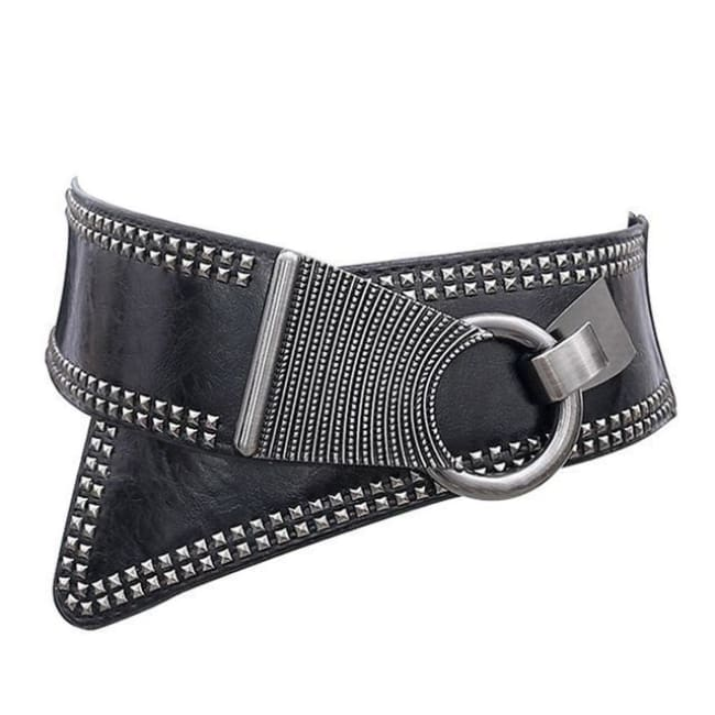 Belt Queen Eleanor (3 Colors) Black Belt