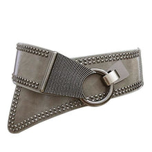 Load image into Gallery viewer, Belt Queen Eleanor (3 Colors) Grey Belt