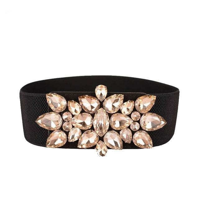 Belt Queen Flakes (2 Colors) Golden Belt