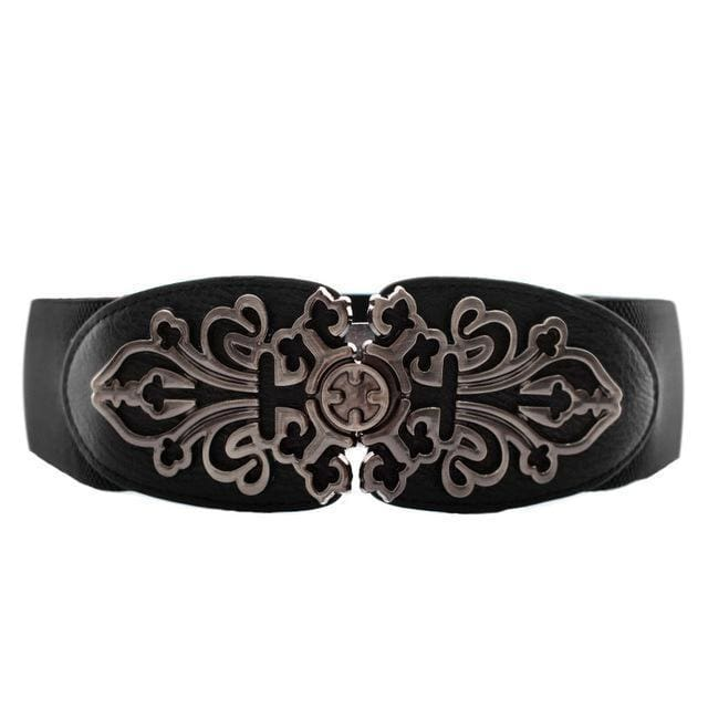 Belt Queen Rania (4 Colors) Black Belt