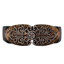 Load image into Gallery viewer, Belt Queen Rania (4 Colors) Leopard Belt