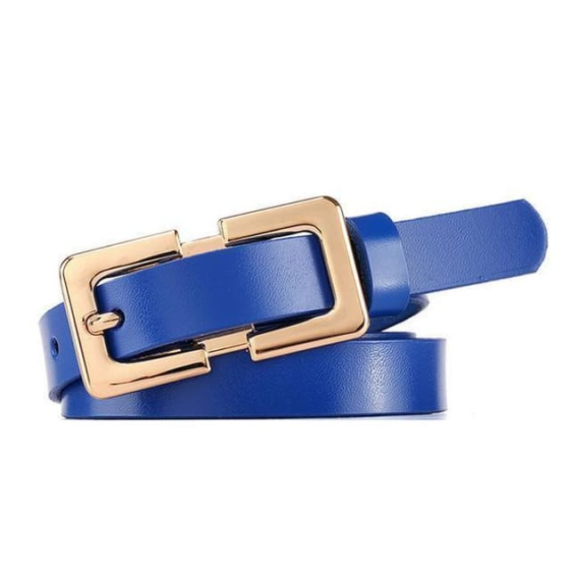 Belt Queen Sophia (8 Colors) Blue Belt
