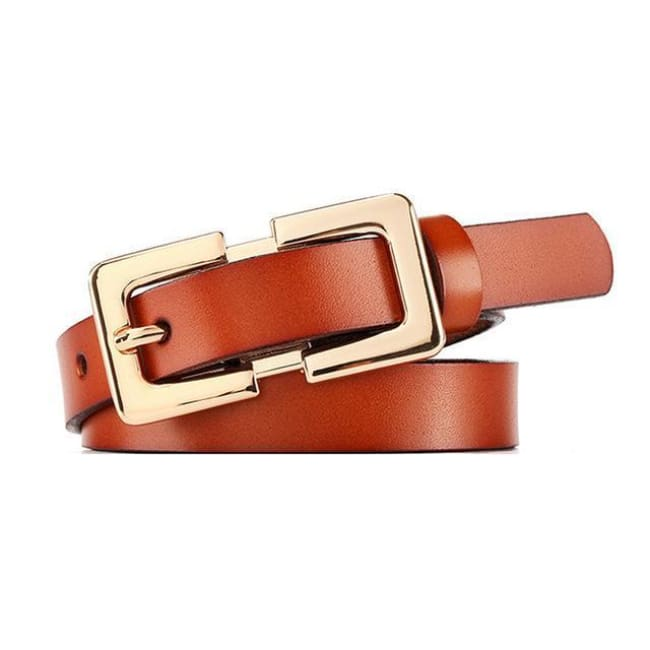 Belt Queen Sophia (8 Colors) Brown Belt