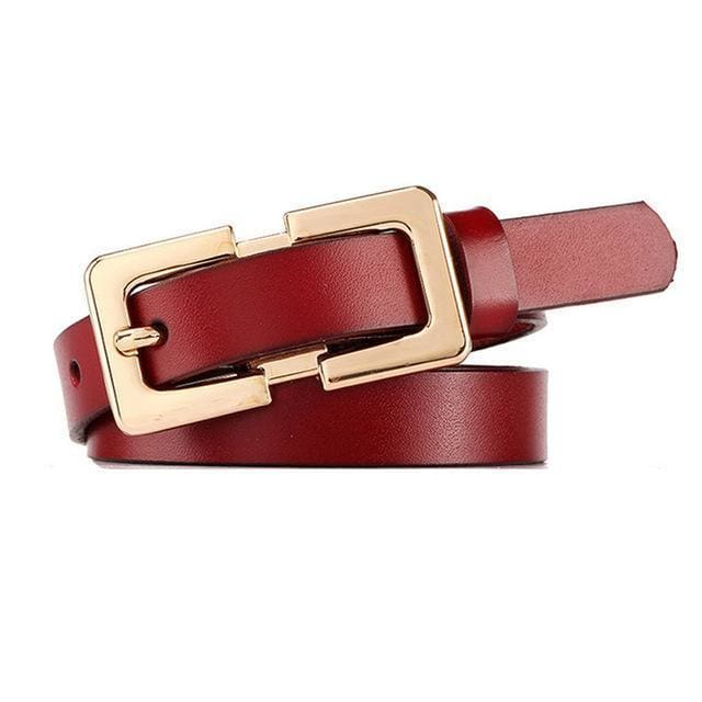 Belt Queen Sophia (8 Colors) Wine Red Belt