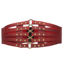 Load image into Gallery viewer, Belt Queen Theodora (4 Colors) Red Belt