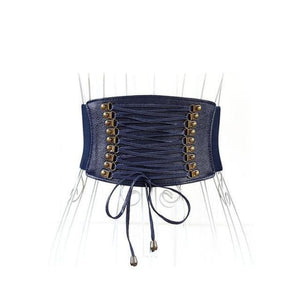 Belt Queen Xaima (4 Colors) Navy Blue Belt
