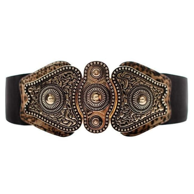 Belt Queen Yakarta (2 Colors) Leopard Belt