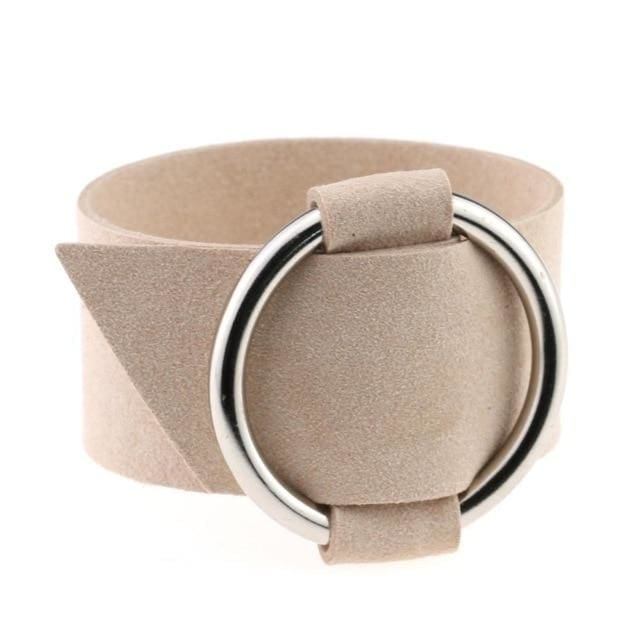 Bracelet Drag Cacharel (15 Colors) Beige Bracelet