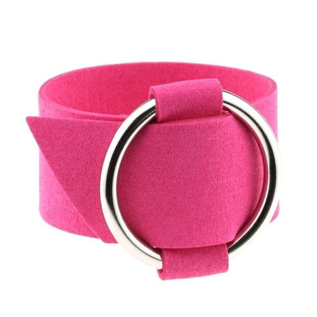 Bracelet Drag Cacharel (15 Colors) Fuchsia Bracelet