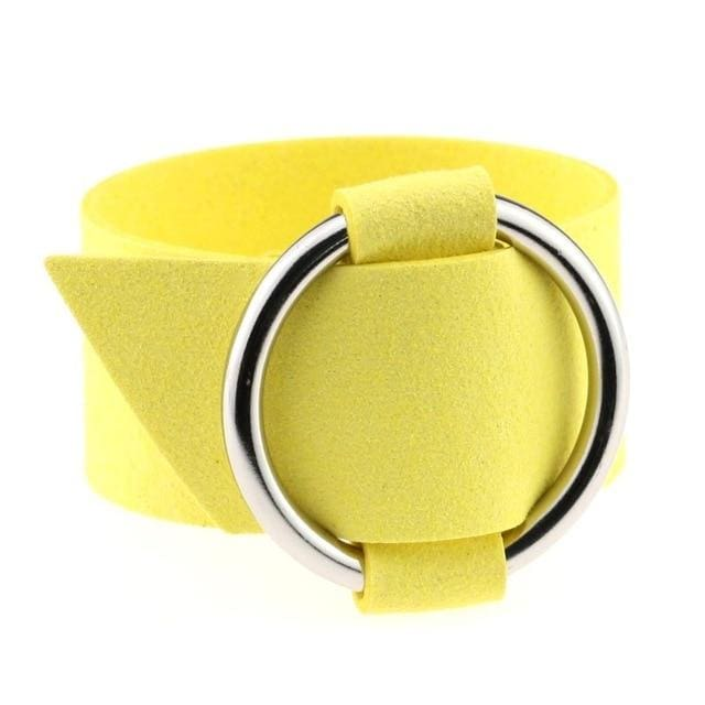 Bracelet Drag Cacharel (15 Colors) Yellow Bracelet