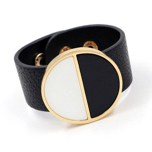 Bracelet Drag Gucci (5 Colors) Black & White Bracelet